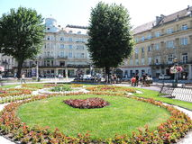 Lvov city, Ukraine Royalty Free Stock Photos