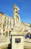 Lvov, fountain Royalty Free Stock Photography