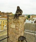 Lvov, monument aan Schoorsteen huilt Stock Afbeeldingen