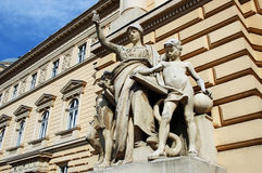 Lvov National University named after Ivan Franko Stock Photography