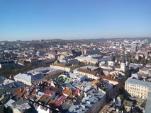 Lvov roofs Royalty Free Stock Photos
