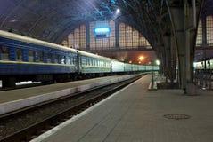lvov stacji Zdjęcie Royalty Free