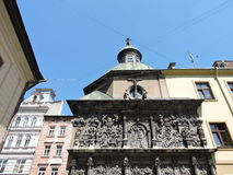 Lvov town architecture Royalty Free Stock Image