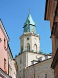 Lvov town architecture Royalty Free Stock Photography