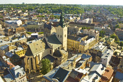 Lvov, Ucrânia foto de stock royalty free