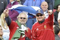lwów brytyjscy zwolennicy Zdjęcia Royalty Free