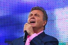 Lwa Leschenko â€' Radziecki i Rosyjski piosenkarz, miękka część, luźny niski baryton, męski aksamitny brzmienie Zdjęcia Royalty Free
