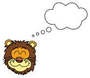 Lwa marzyć ilustracji