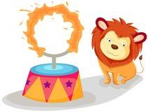 lwa płomienny pierścionek Fotografia Stock
