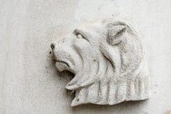 Lwa Religijny symbol na Białym tle obraz royalty free