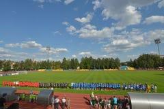 Lwa Yashin VTB filiżanka Zdjęcia Royalty Free
