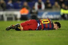 Löwe Messi von FC Barcelona Lizenzfreies Stockfoto