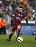 Löwe Messi von FC Barcelona Stockfotos