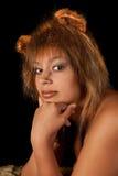 Lwicy kobieta Fotografia Royalty Free