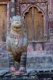 Lwy, symbole władza i ochrona, Obraz Stock