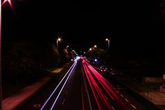 Lx miasta światła zdjęcie royalty free