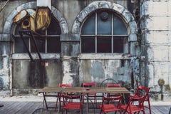 LxFactory, σύγχρονα αγορές και ένα κέντρο πολιτισμού στη Λισσαβώνα Στοκ Εικόνα
