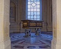 Lyautey monument i Museen de l nation för `-Armee Armémuseum Arkivbild