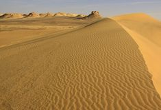 Lybian desert Royalty Free Stock Photo