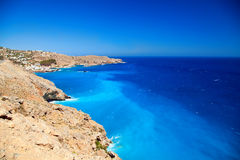 Lybian sea near Crete shore Stock Images