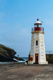 Lybster Harbour Lighthouse, Caithness, Scotland Stock Image