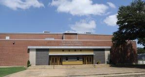Lycée central de Millington grand-angulaire du gymnase photographie stock