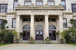 Lycée de la Reine Anne à Seattle Image libre de droits