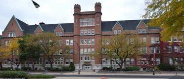 Lycée de Lakeview images libres de droits