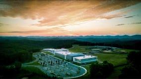 Lycée de Ridgeview photo libre de droits