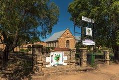 Lycée historique dans Ladybrand Photographie stock