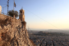 Lycabettus Church of Saint George Stock Photography