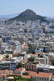 Lycabettus hill Stock Photos