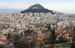 Lycabettus Hill. In Athens, Greece Royalty Free Stock Image