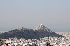 Lycabettus Hill, Athens Royalty Free Stock Photo