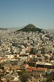 Lycabettus Hill, Athens, Greece Stock Photos