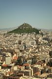 Lycabettus Hill, Athens, Greece Royalty Free Stock Images