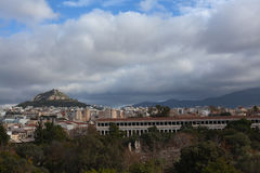 Lycabettus hill. Royalty Free Stock Image