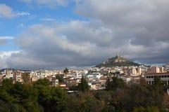 Lycabettus hill. Stock Image