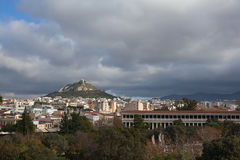 Lycabettus hill. Royalty Free Stock Photography