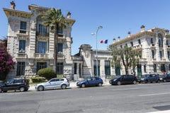 Lycee Massena, Academie De Ładny, Francja Fotografia Royalty Free