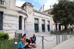 Lycee Massena, Nice, France Royalty Free Stock Photos