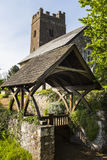 Lych gate Stock Photos