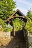Lych gate Royalty Free Stock Images