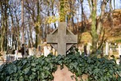 Free Lychakiv Cemetery In Ukraine Stock Photo - 168309530