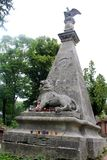 Lychakiv cemetery in Lviv Royalty Free Stock Photos