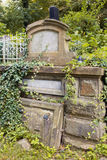 Lychakiv Cemetery in Lviv, Ukraine.  Tombstone Royalty Free Stock Photography
