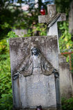 Lychakiv Cemetery Stock Photography
