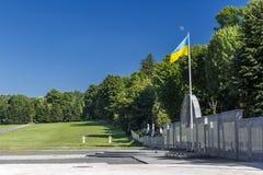 Lychakiv cmentarz, Lviv, Ukraina Fotografia Royalty Free