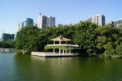 lychee公园视图 库存图片