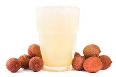 lychee сока Стоковая Фотография RF